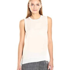 Theory Lewie GGT combo silk top
